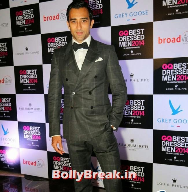 Rahul Khanna, Evelyn, Kim, Nargis Sizzle at GQ Best Dressed Men 2014 Awards