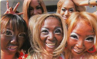 Japón y la moda del bronceado