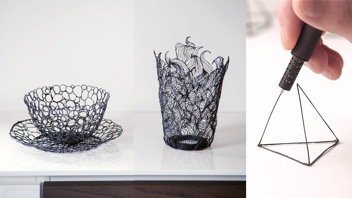 Pulpen Printer 3D Terkecil di Dunia, Lix 3D Pen