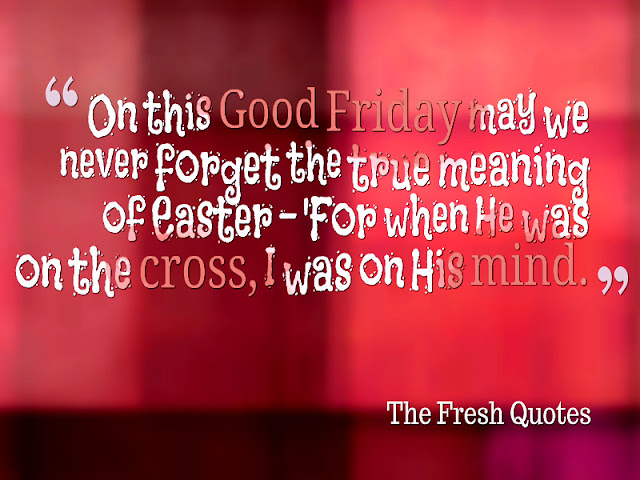 Good Friday 2017 Greetings