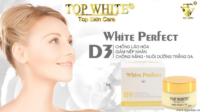 Kem chống lão hóa kết hợp chống lão hóa White Perfect D3 - 450.000vnđ/ 1 hôp
