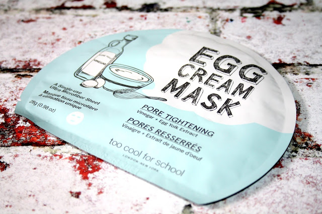 Too Cool For School - Egg Cream Mask