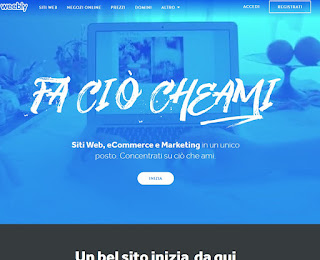 Sito Weebly