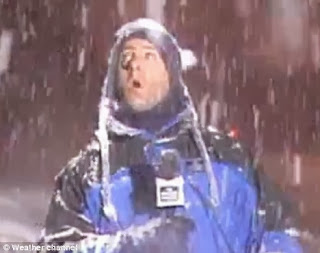 The Weatherman in Snow