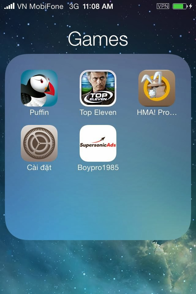 sử dụng hma trên iphone ipad