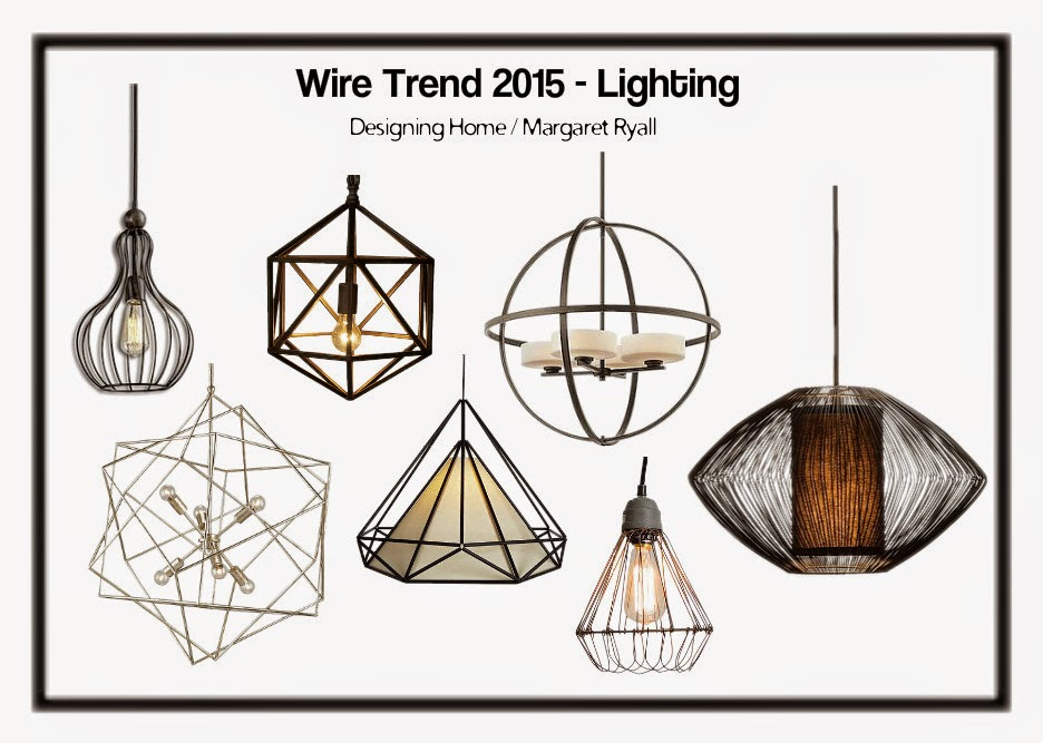 Wire Frame Lighting Trend 2017