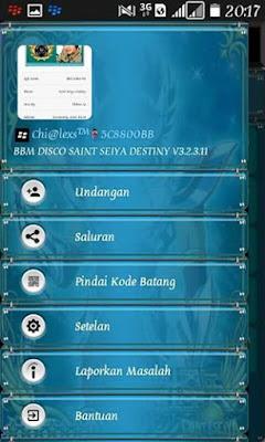 BBM MOD COLOR Disco v8 Unclone Base BBM 3.2.3.11 APK New !