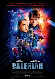 Download Film Valerian and the City of a Thousand Planets 2017  WEB-DL Subtitle Indonesia