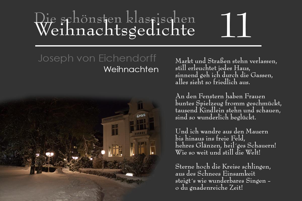Die Schönsten Weihnachtsgedichte.Mein Usedom Dezember 2014
