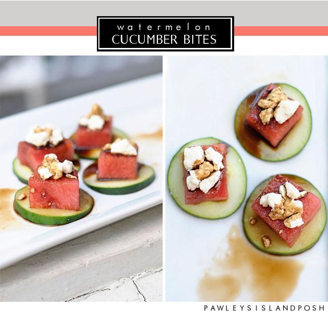 Julia Ryan: Watermelon Appetizer and Glitter Guide