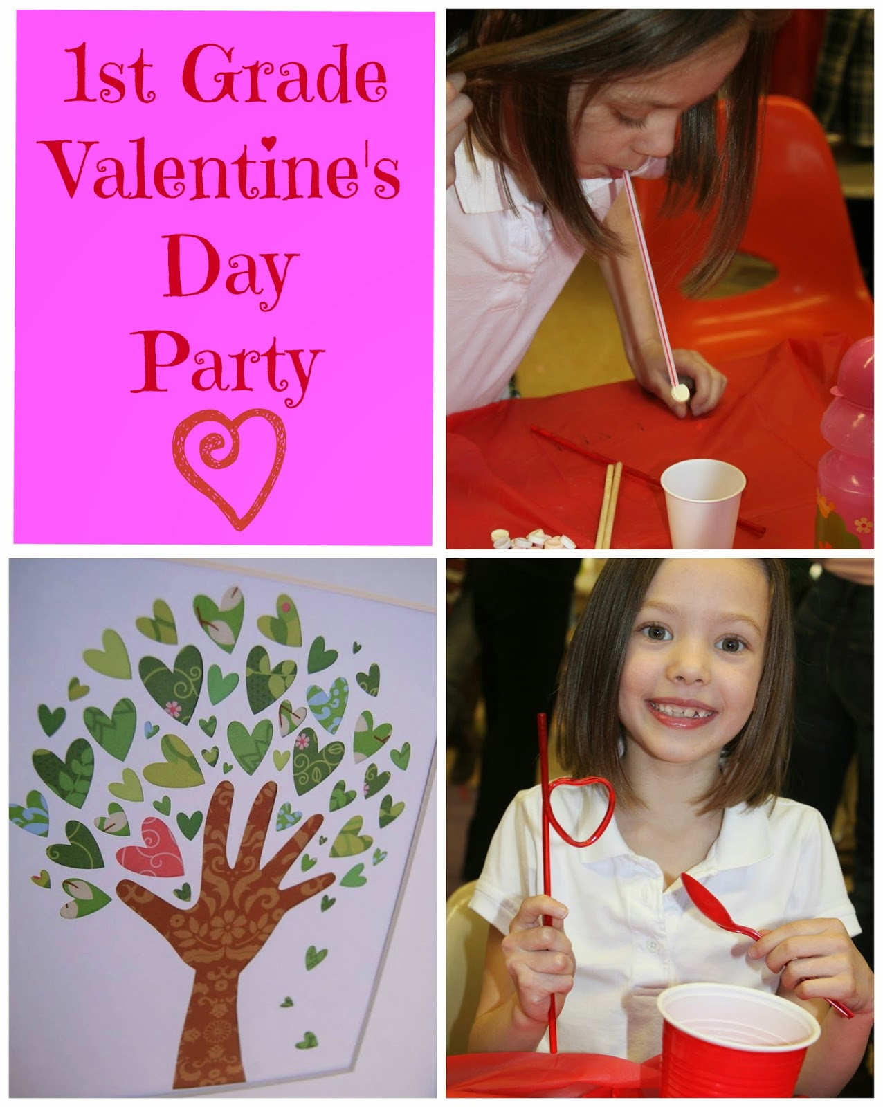 Keeping Up With The Kiddos 1st Grade Valentine S Day Party