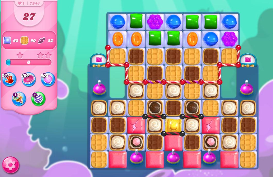 Candy Crush Saga level 7944