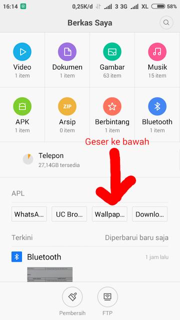 Menampilkan File Tersembunyi di Hp Xiaomi