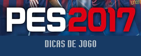 PES 2017 Defender com pedir aos jogadores que pressionem