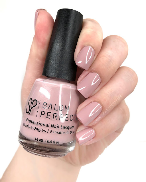 Salon Perfect Crisp Rosé Swatch 25 Sweetpeas