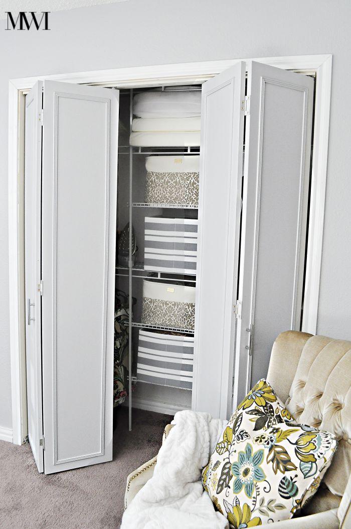 How To Update 1970's Bi-Fold Closet Doors | Monica Wants It