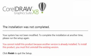 Cara Mengatasi Corel Draw X8 yang tidak bisa Terinstal