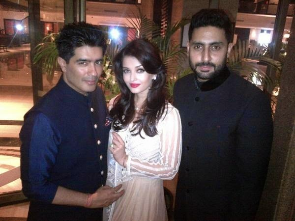 Aishwarya Rai, Abhishek Bachchan, Kush Sinha's grand wedding Pics