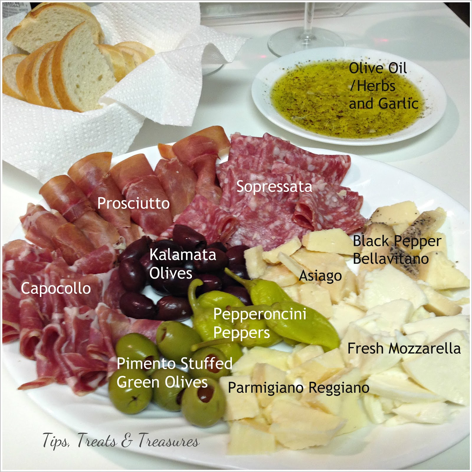 how to serve antipasto platter