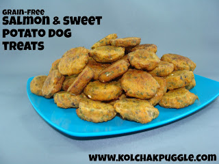 SWEET POTATO & SALMON BITES