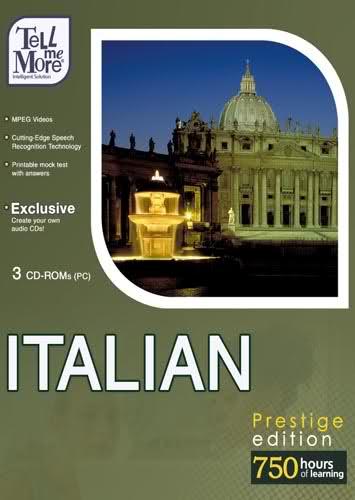 3 أشهر إسطوانات لتعليم اللغة الإيطالية - TELL ME MORE Italiano