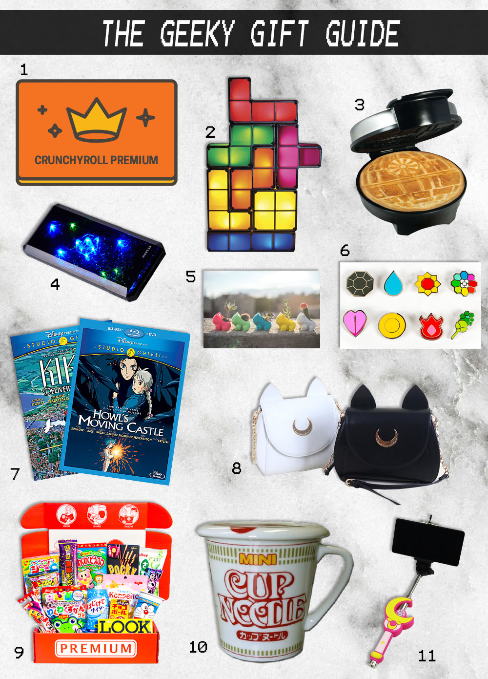 Geek Christmas Gifts.The Geek The Cosplayer Christmas Gift Guide Sachie