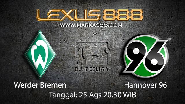 Prediksi Bola Jitu Werder Bremen vs Hannover ( German Bundesliga )