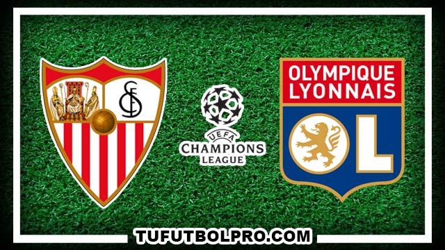 Ver Sevilla vs Olympique Lyon EN VIVO Por Internet Hoy 27 de Septiembre 2016