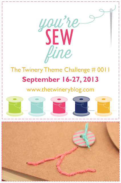 The Twinery You're Sew Fine Challenge | iloveitallwithmonikawright.com