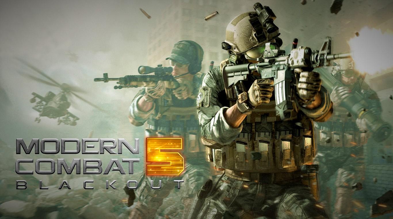 Modern Combat 5 v3.8.1A MOD APK