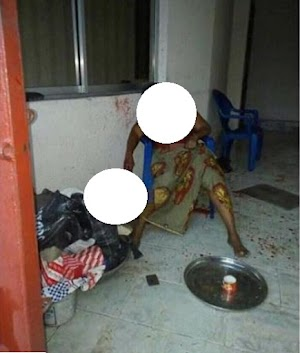 Man Slashed Stepmother Throat, She Bleeds To Death