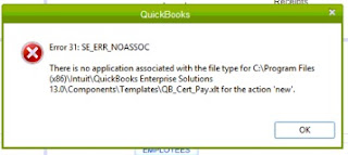 Intuit QuickBooks Error Code 31 Resolve Support ☎ 1844-551-9757