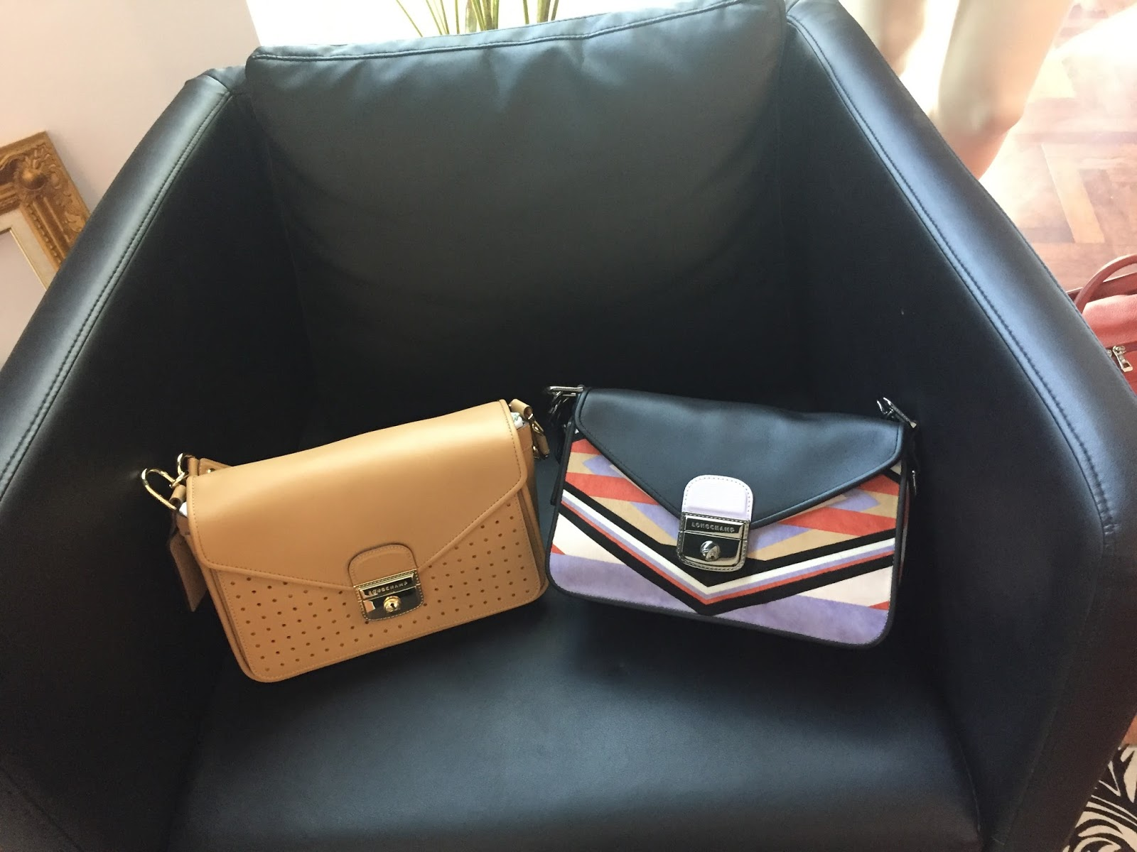 Longchamp SS18 Mademoiselle Bags