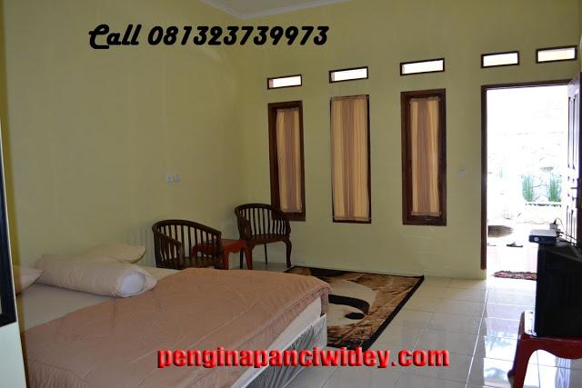 Booking villa di area wisata kawah putih dari kediri