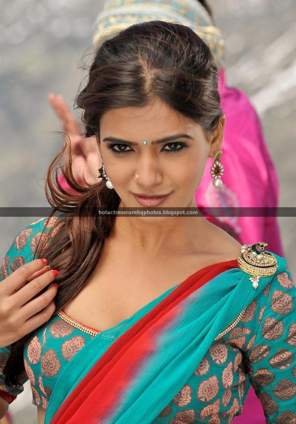 Samantha In Saree: Hot Indian Actress Rare HQ Photos: South Actress Samantha