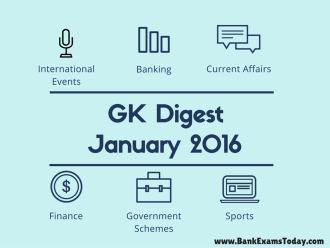 GK Digest January 2016 (English and Hindi versions)   BankExamsToday