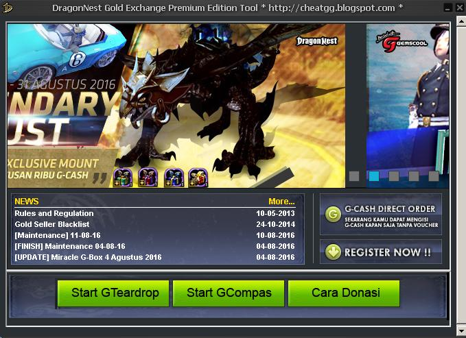 Download Cheat Update Terbaru DragonNest Gold Bulan Maret 2018