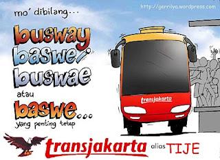 Tips Kocak Naik Trans Jakarta (Busway)