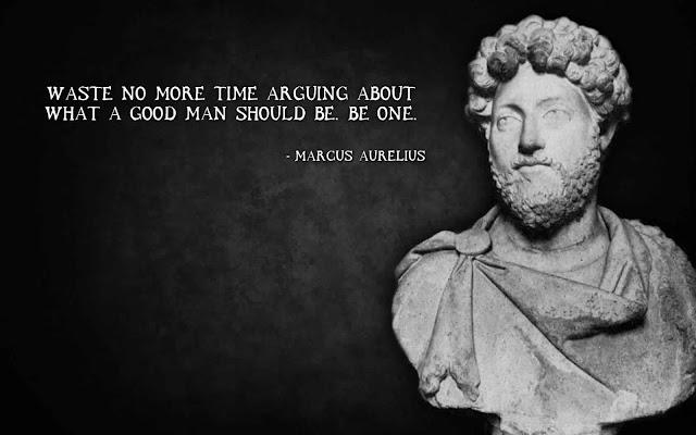 Marcus Aurelius Quote about Time
