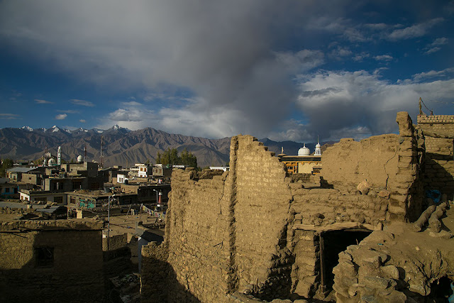 early morning walk leh ladakh early morning photo