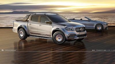 Mercedes X Class By Carlex Design Is The Maybach Of Pickup Trucks 1