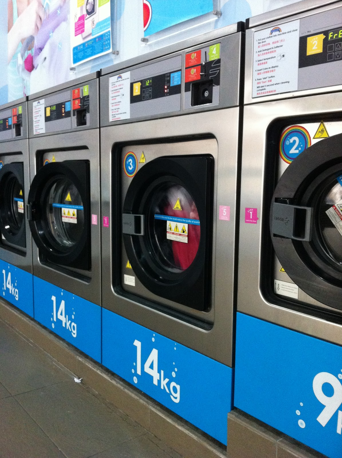 Fruitheart Practical Self Service Laundry