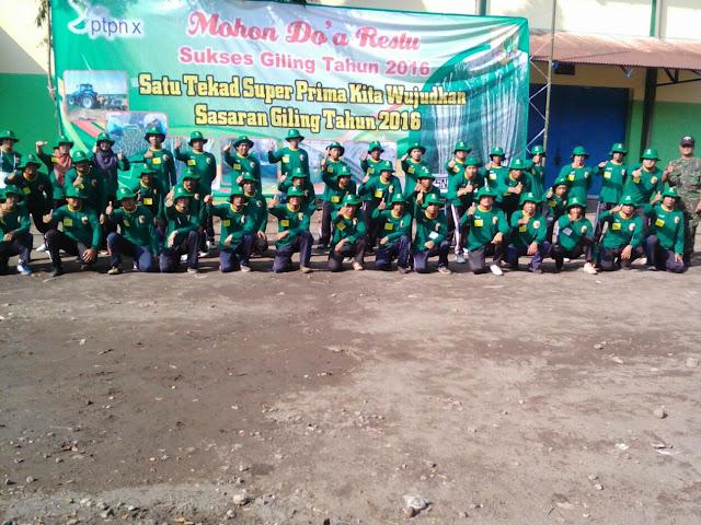 Pembinaan Fisik Dan Mental Karyawan Pabrik Gula Mrican