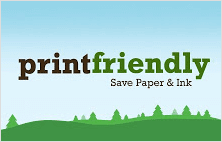 Print friendly and PDF extension for Google Chrome