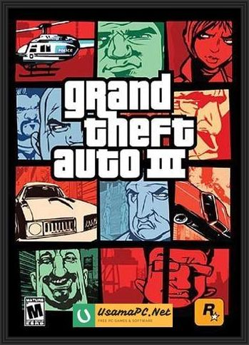 GTA 3 Cover Art
