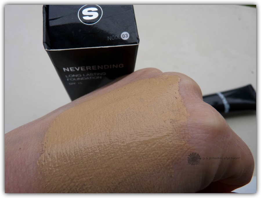 Sensilis Neverending long lasting foundation