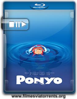 Ponyo: Uma Amizade que Veio do Mar (Gake no Ue no Ponyo) Torrent