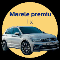 Castiga un Volkswagen Tiguan + premii garantate