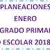 PLANEACION (enero) 5° PRIMARIA CICLO ESCOLAR 2018-2019.