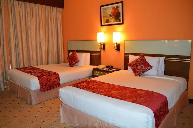 Ruang kamar di bilik Executive Room Hotel Klana Resort Seremban